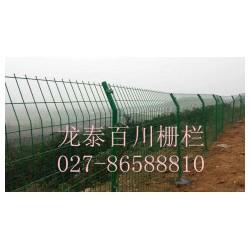 江陵县工业园区厂外围护栏网框架钢丝网造型样